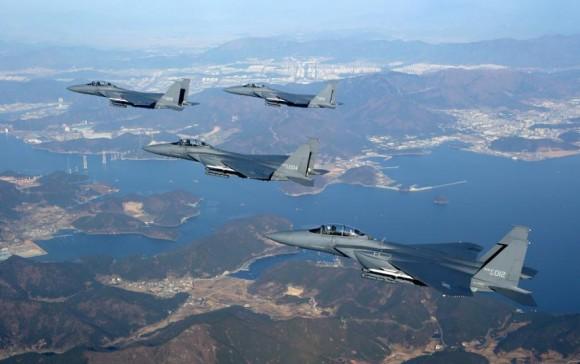 F-15K - foto ROKAF