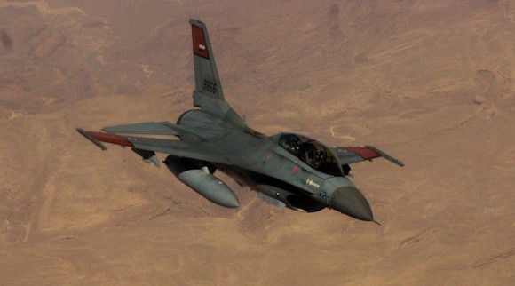F-16 egípcio nos EUA - foto USAF