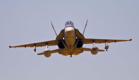 F-18 Hornet - C15 - foto Força Aérea Espanhola