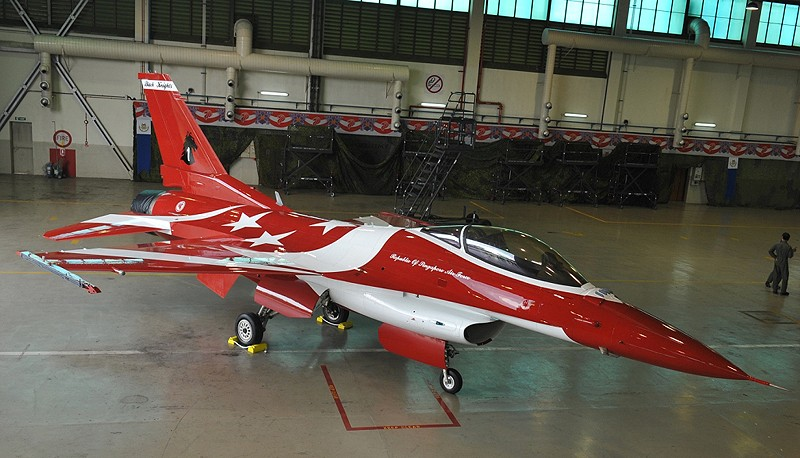 The Black Knights will feature six F-16C Fighting Falcons from the RSAF.