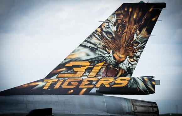 Tiger Meet 2013 - F-16 - foto via Força Aérea Francesa