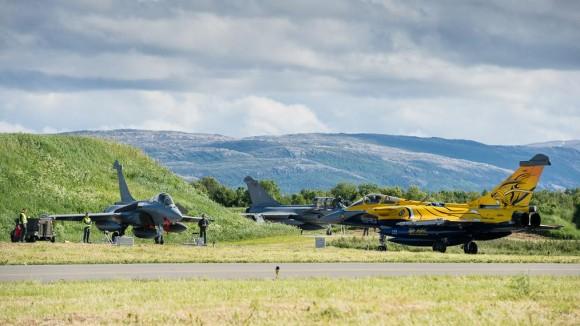 Tiger Meet 2013 - Rafales - foto via Força Aérea Francesa