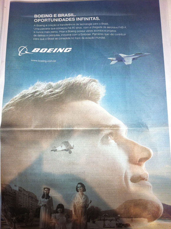 Anúncio Boeing