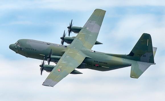 C-130J Coreia do Sul - foto Lockheed Martin