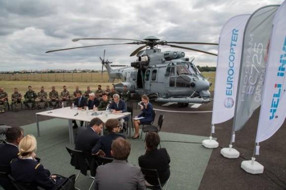 EC725 em exibição na Polônia - foto 3  Eurocopter