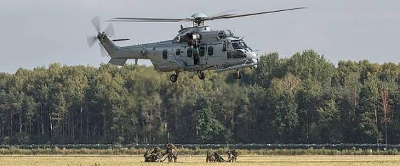 EC725 em exibição na Polônia - foto Eurocopter