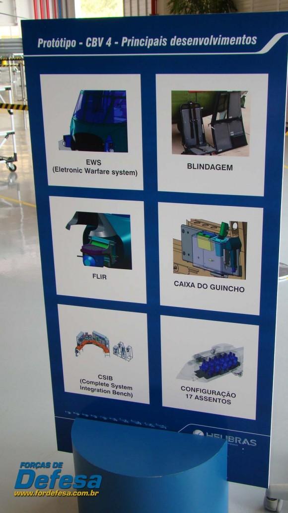 Painel célula de EC725 CBV 4 na fábrica da Helibras em Itajubá - out 2012 - foto Nunão - Forças de Defesa