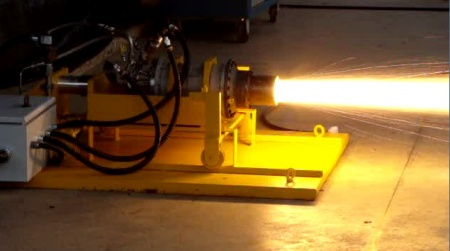 Ensaio motor híbrido - foto FAB IAE