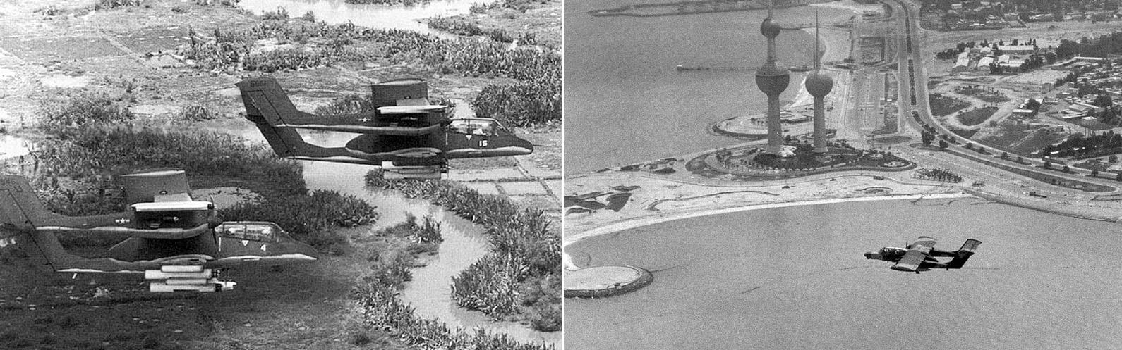 OV-10 Bronco no vietna e no golfo