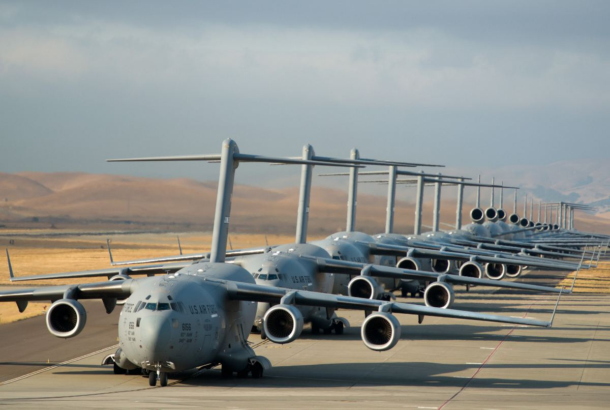 Travis Air Force Base - C-17, KC-10, C-5B