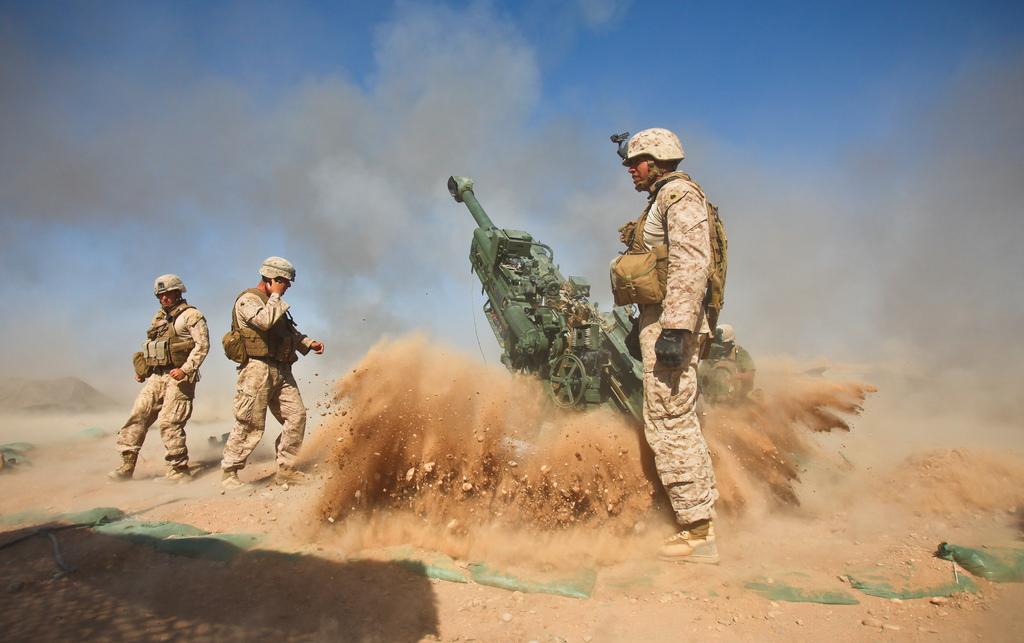 artilharia do USMC