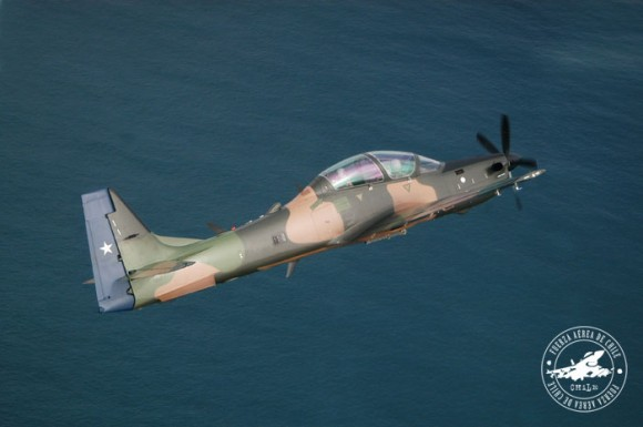 A-29 Super Tucano do Chile - foto 4 FACh