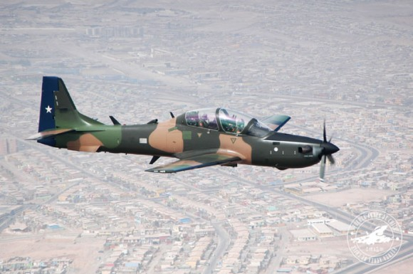 A-29 Super Tucano do Chile - foto FACh