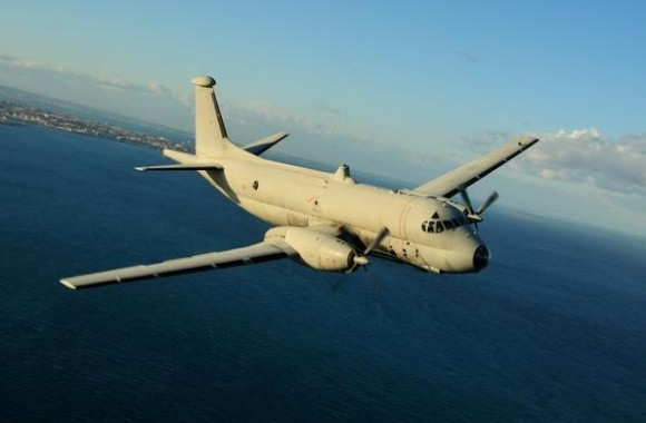 Atlantique italiano no Brilliant Mariner da OTAN - foto Força Aérea Italiana