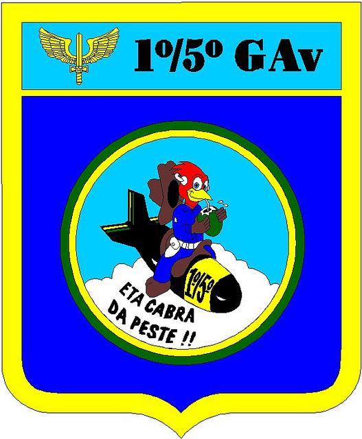 Brasao 1-5 GAV - FAB