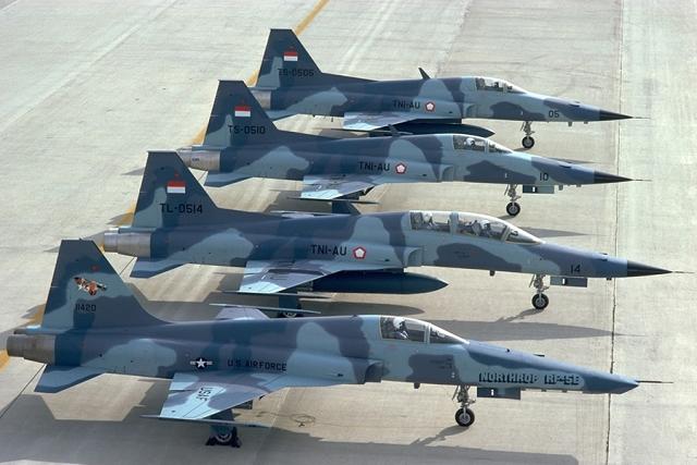 F-5 indonesia - foto Northrop