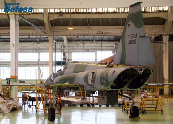 F-5EM 4820 no Domingo Aéreo 2013 PAMA-SP - Foto Nunão - Poder Aéreo - Forças de Defesa