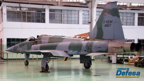 F-5EM 4827 no Domingo Aéreo 2013 PAMA-SP - Foto Nunão - Poder Aéreo - Forças de Defesa