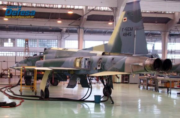 F-5EM 4845 no Domingo Aéreo 2013 PAMA-SP - Foto Nunão - Poder Aéreo - Forças de Defesa