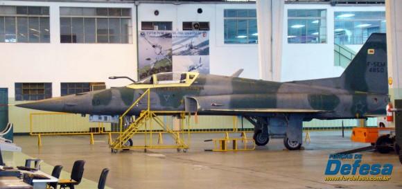 F-5EM 4850 no Domingo Aéreo 2013 PAMA-SP - Foto Nunão - Poder Aéreo - Forças de Defesa