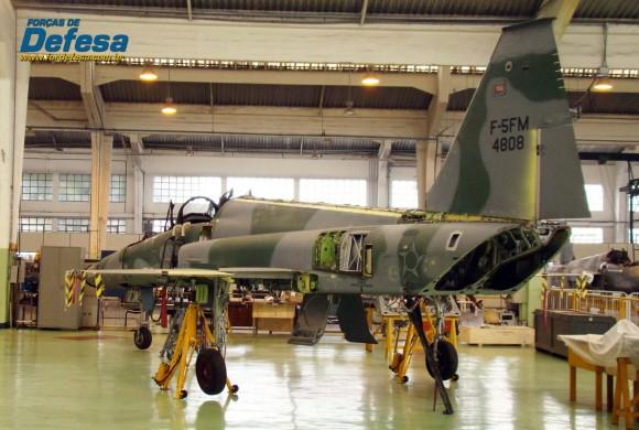 F-5FM 4808 no Domingo Aéreo 2013 PAMA-SP - Foto Nunão - Poder Aéreo - Forças de Defesa