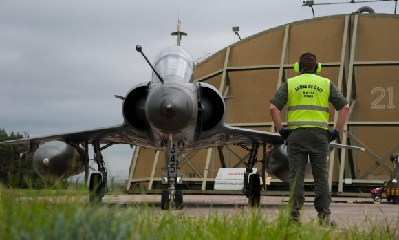 Mirage 2000N no Joint Warrior 2013 - foto 4 Força Aérea Francesa