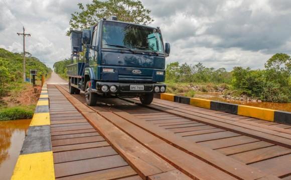 Ponte sobre Rio Braço Norte em Cachimbo - foto 2 FAB