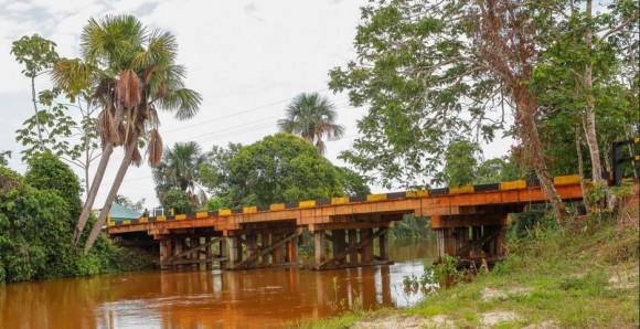 Ponte sobre Rio Braço Norte em Cachimbo - foto 3 FAB