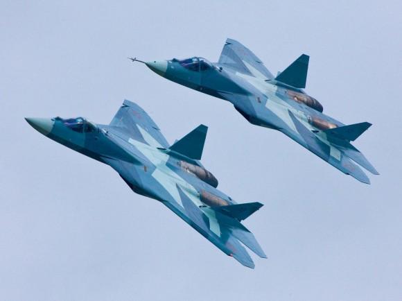 Sukhoi T-50 - protótipos - foto Sukhoi