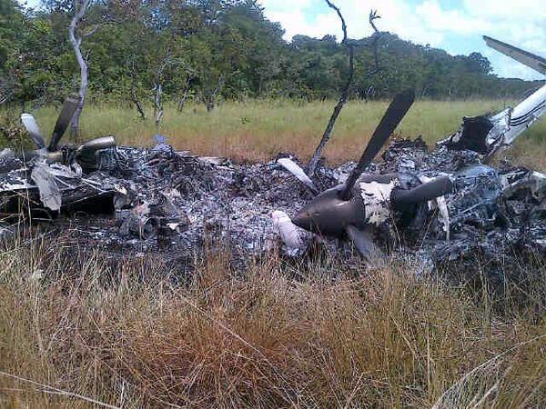 aeronave derrubada pela Venezuela