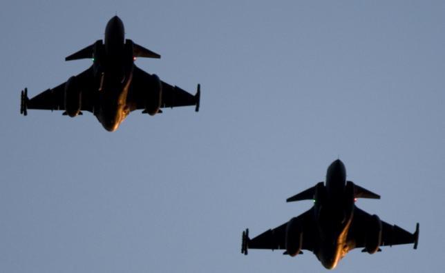 caças Gripen - foto N Ehlén - Combat Camera - Forças Armadas da Suécia