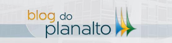 logo do Blog do Planalto na página inicial