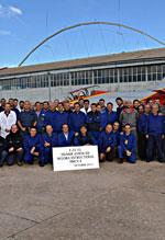 Entrega primeiro C-101 modernizado à Academia Geral do Ar - foto Força Aérea Espanhola