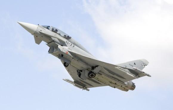 Eurofighter Typhoon espanhol - foto Força Aérea Espanhola