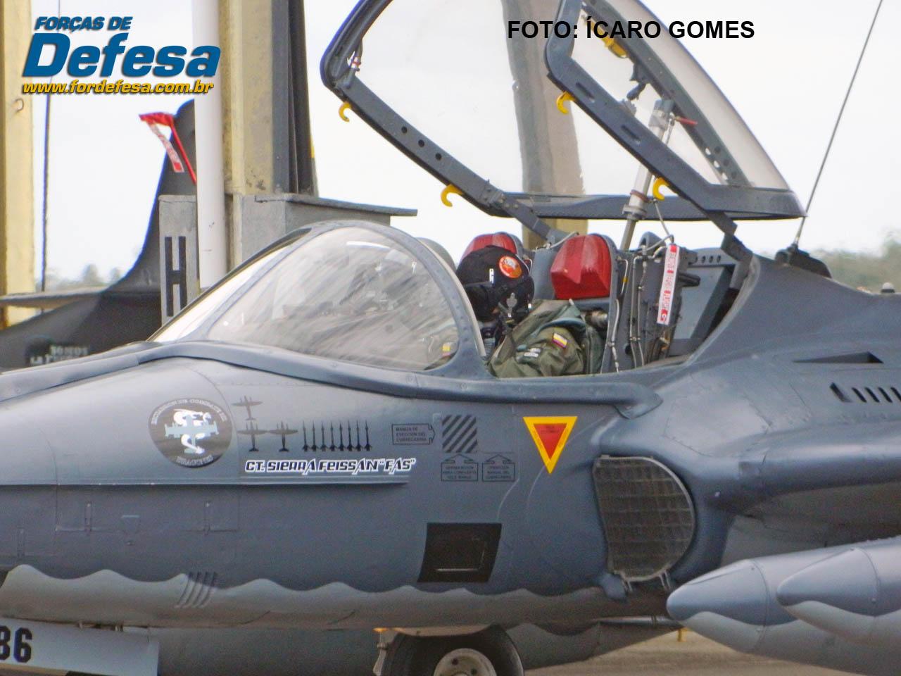 FAC A-37 com kill marks - CRUZEX 2013 - foto Joker