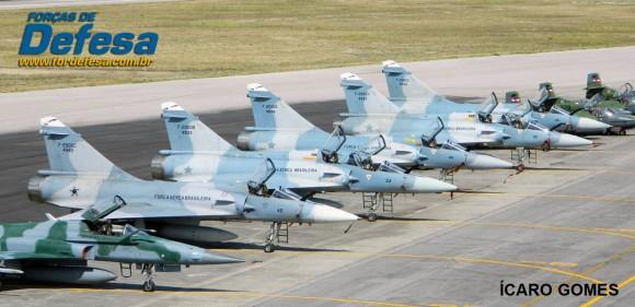 Mirage 2000 na CRUZEX 2013 - foto Icaro