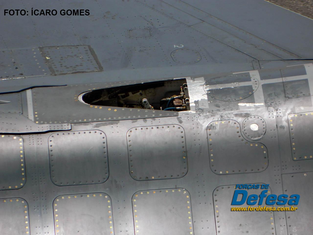 detalhe do F-16 CRUZEX 2013 - foto Icaro