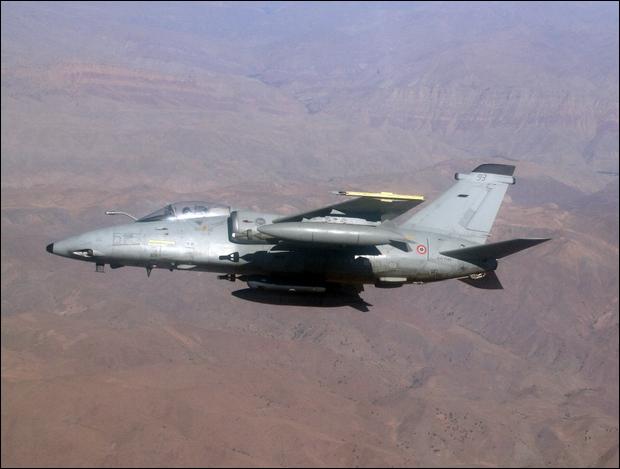 AMX no Afeganistão - foto Força Aérea Italiana