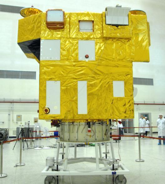 CBERS-3 finalizado - foto INPE