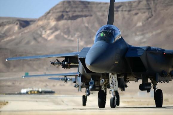F15E da USAF no Blue Flag de Israel - foto 2 USAF