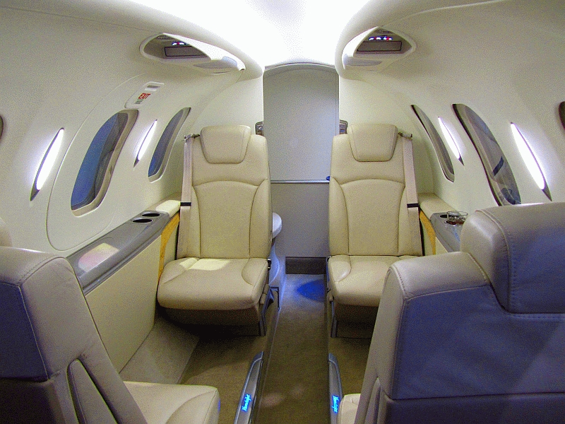 Hondajet_Interior