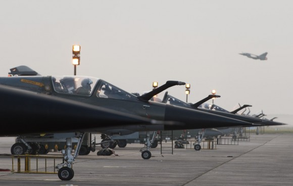 Mirage F1 - última campanha ar-solo - foto 2 Força Aérea Francesa