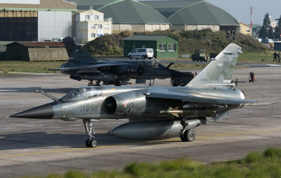 Mirage F1 - última campanha ar-solo - foto 3 Força Aérea Francesa
