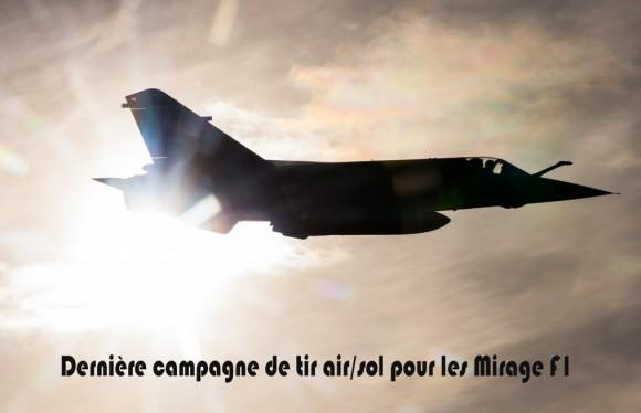 Mirage F1 - última campanha ar-solo - foto 5 Força Aérea Francesa
