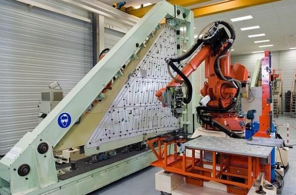 Produção de asas de Rafale em Martignas - foto 3 Dassault
