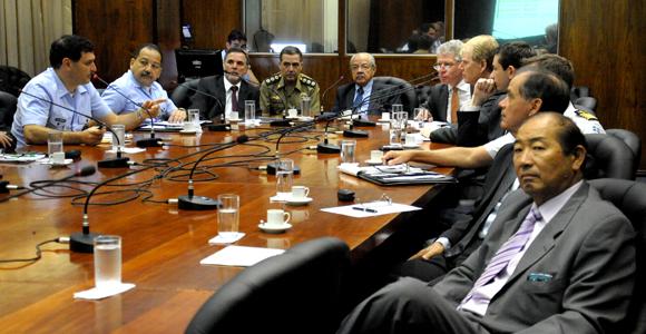 Reunião no MD para tratar do Gripen NG - foto J Cardoso -  Ministério da Defesa