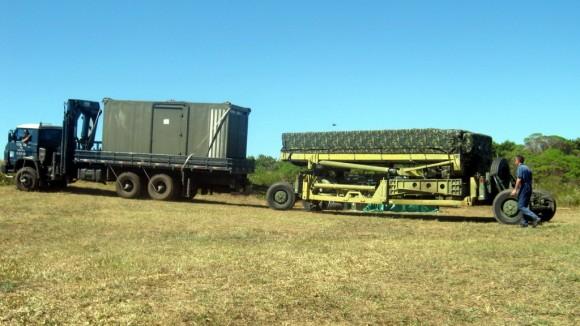TPS-B34 sendo transportado - foto DECEA