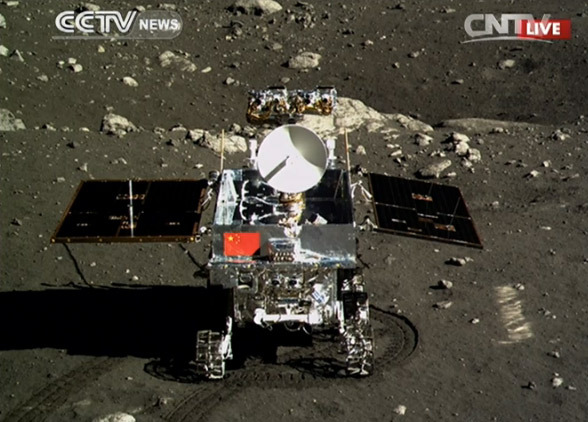 Yutu - missão chinesa na Lua - CNTV
