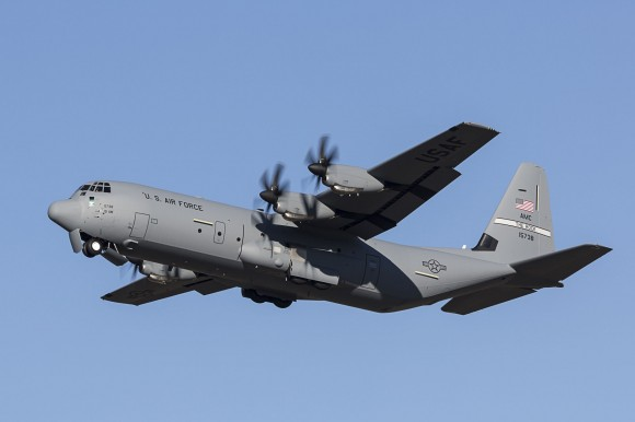 MP13-1464 C-130J 5738 Delivery Flight