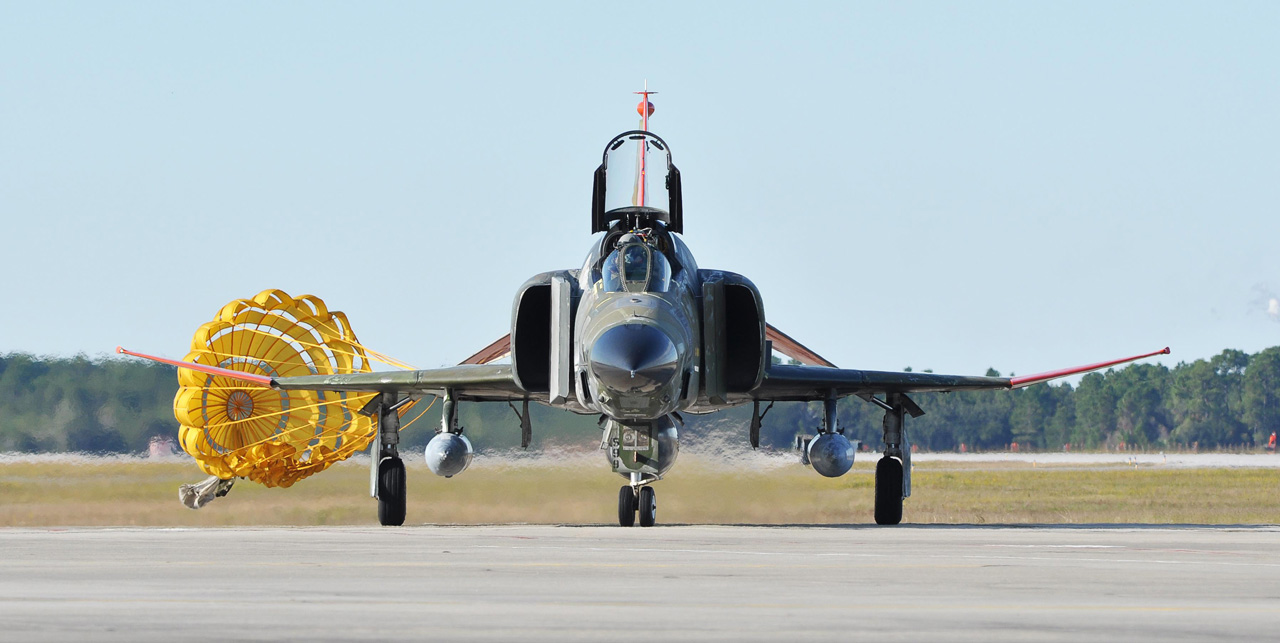 the last QF-4 - PHOTO USAF